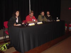 Debate sobre moradia (Juliana Smith, Antonio José de Araujo, Renato Cymbalista, Nabil Bonduki)