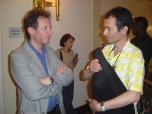 """Thomas Pendzel (""""5/7 rue Corbeau"""") e Georges da Costa (Autres Brésils)"""